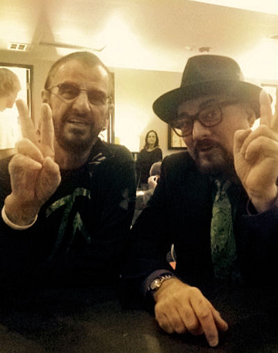 Ringo Starr and Jimmy Vivino